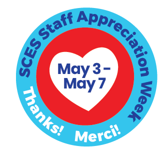 Circle with Staff Appreciation Dates - May 3 - May 8 - inside